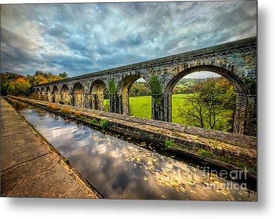 Chirk Aqueduct 1801 Metal Print by Adrian Evans