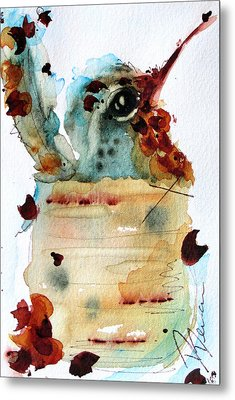 Chloe Nesting Metal Print by Dawn Derman