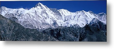Cho Oyu From Goyko Valley Khumbu Region Metal Print by Panoramic Images