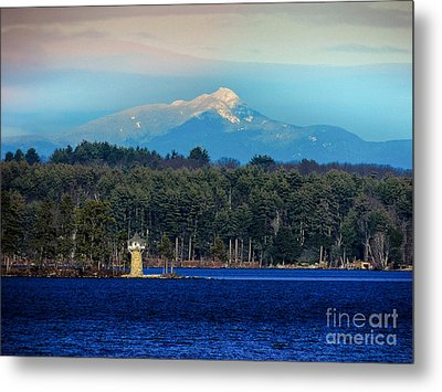 Chocorua And Spindle Point Metal Print