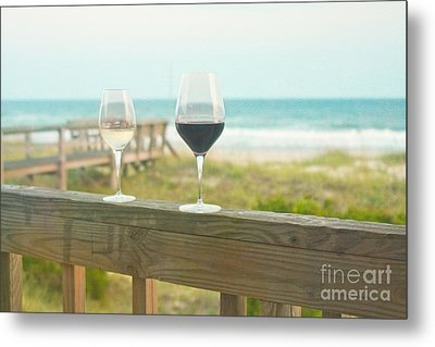 Choices At The Beach Metal Print by Kay Pickens
