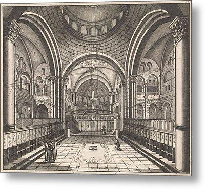 Choir Of The Holy Sepulchre In Jerusalem Metal Print