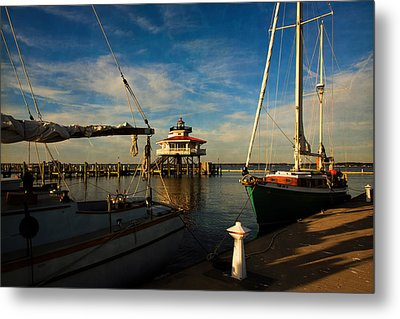 Choptank Lighthouse Metal Print