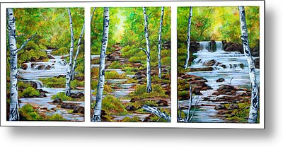 Chris And Willy's Falls Metal Print by Jessica Tookey