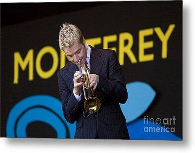 Chris Botti Plays Trumpet Metal Print by Craig Lovell
