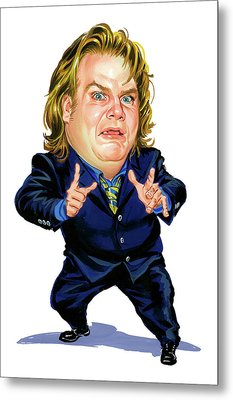 Chris Farley Metal Print by Art