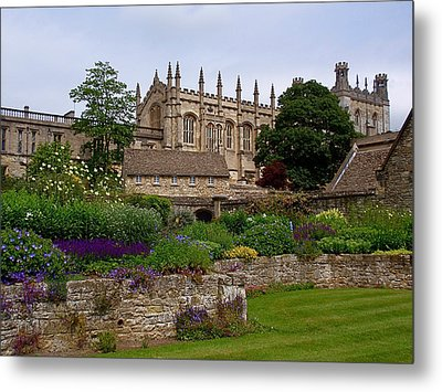 Christ Church In Spring Metal Print by Rona Black