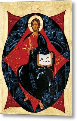 Christ In Majesty Metal Print by Joseph Malham