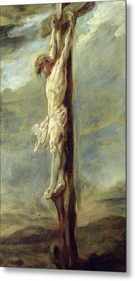 Christ On The Cross Metal Print by Rubens