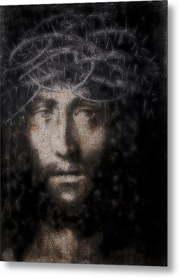 Christ Suffering Metal Print by Daniel Hagerman