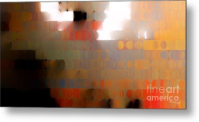 Christian Art- Wall Of Separation. Ephesians 2 14  Metal Print