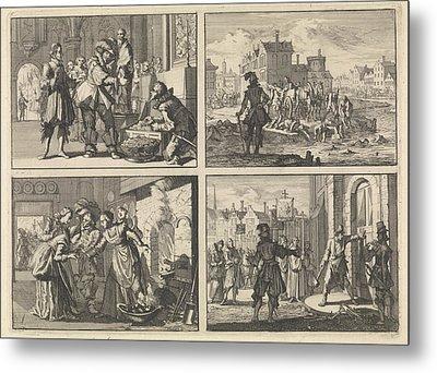 Christian, Duke Of Brunswick, Paderborn Treasures Including Metal Print by Quint Lox