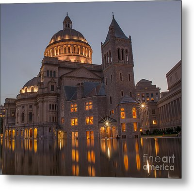 Christian Science Center 2 Metal Print by Mike Ste Marie