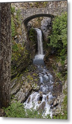 Christine Falls Metal Print by Sharon Seaward