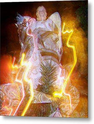 Christmas Angel Metal Print