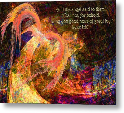 Christmas Angel Metal Print by Stephanie Grant