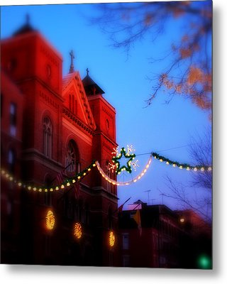 Metal Print featuring the photograph Christmas At Our Lady Of Mount Carmel  by Aurelio Zucco