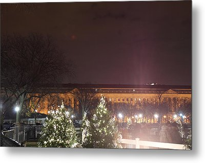 Christmas At The Ellipse - Washington Dc - 01134 Metal Print