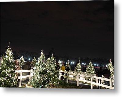Christmas At The Ellipse - Washington Dc - 01136 Metal Print by DC Photographer