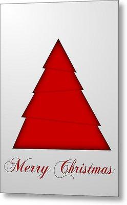 Christmas Card 15 Metal Print