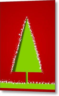 Christmas Card 17 Metal Print