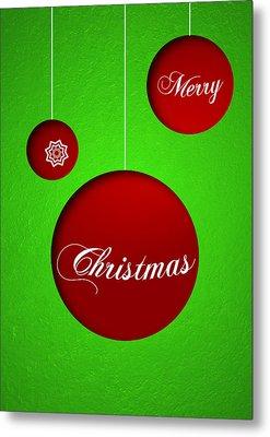 Christmas Card 19 Metal Print