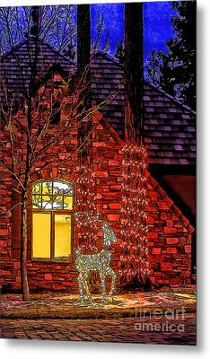Christmas Card -2014 Metal Print
