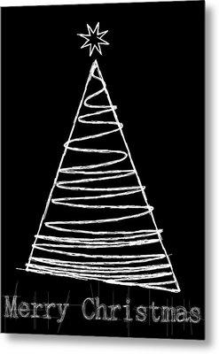 Christmas Card 24 Metal Print