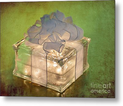 Christmas Card 3 Metal Print by Betty LaRue