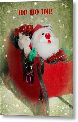 Christmas Card 5 Metal Print by Betty LaRue