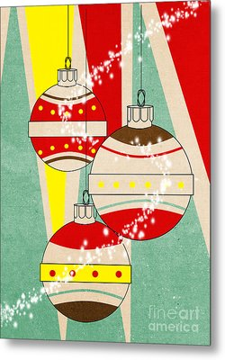 Christmas Card 6 Metal Print by Mark Ashkenazi