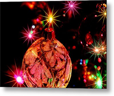 Christmas Card Design #2 Metal Print