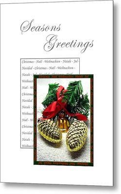 Christmas Decoration 2 Metal Print