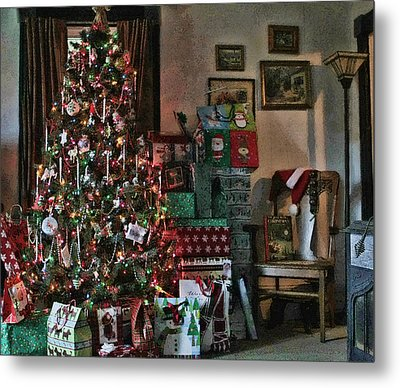 Christmas Metal Print by Denise Romano