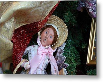 Christmas Display - Mt Vernon - 01133 Metal Print by DC Photographer