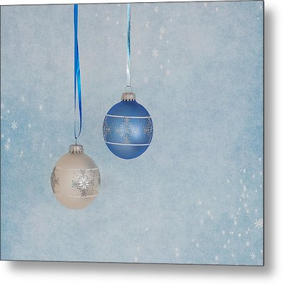 Christmas Elegance Metal Print by Kim Hojnacki