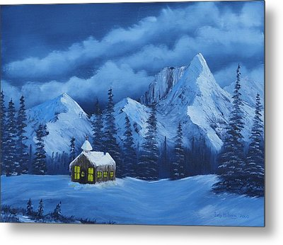 Christmas Eve Metal Print by Bob Williams