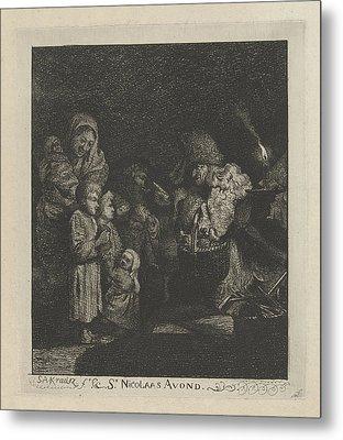 Christmas Eve, Simon Andreas Krausz Metal Print