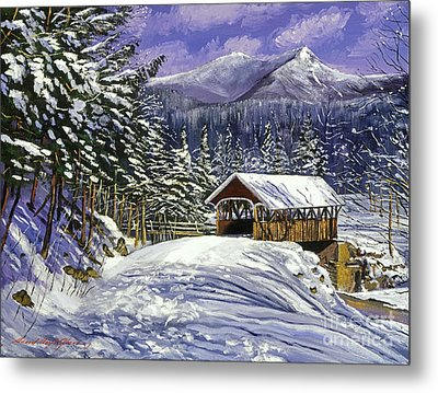 Christmas In New England Metal Print