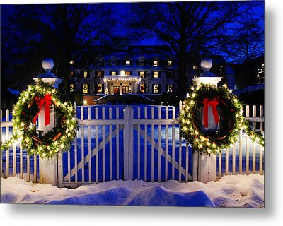 Christmas In The Country Metal Print