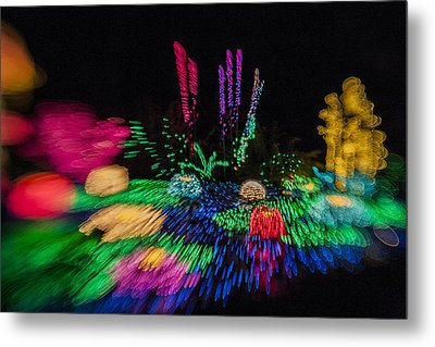 Christmas Is A Blur Metal Print by Scott Campbell