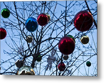 Christmas Is Looking Up This Year Metal Print by Bill Cannon