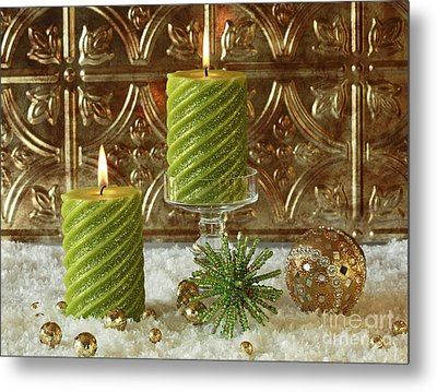 Christmas Joy Metal Print by Inspired Nature Photography Fine Art Photography