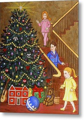 Christmas Morning Metal Print by Linda Mears
