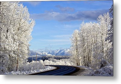 Christmas Morning Metal Print by Sylvia Hart