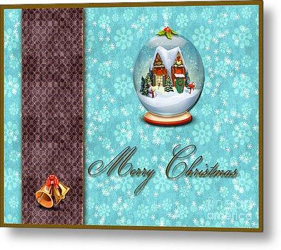 Christmas Card 13 Metal Print