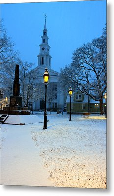 Christmas On The Town Common Metal Print
