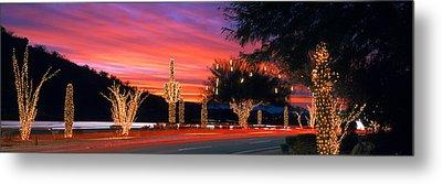 Christmas, Phoenix, Arizona, Usa Metal Print by Panoramic Images