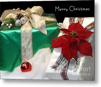 Christmas Presents Metal Print