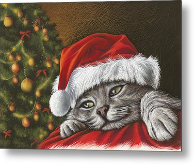 Christmas Special 2 Metal Print by Mahtab Alizadeh